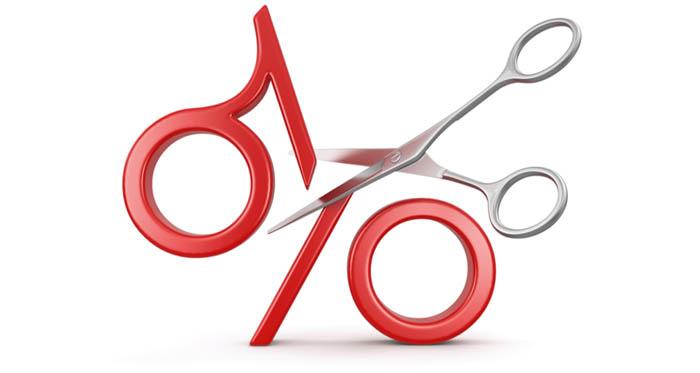 Разрезанный пополам процент
